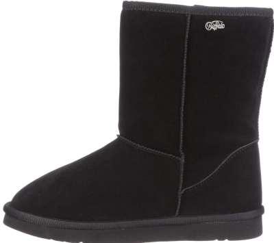 schwarze Buffalo Girl Boots