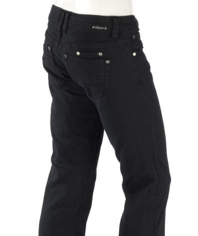schwarze Jeanshose Bootcut